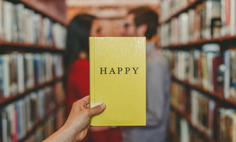 Seja feliz, ilustração sobre os significado de valores pessoais na nossa vida profissional