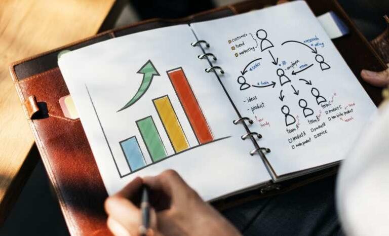 Processo de transição de carreira - ilustração