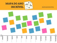 mapa do ano incrivel